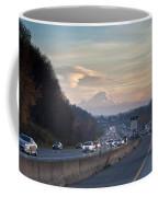 Heavy Traffic Stalls Interstate 5 Coffee Mug