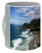 Heceta Head Coffee Mug by Darren  White