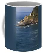 Heceta Head Lighthouse 2 D Coffee Mug