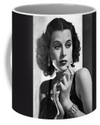 Hedy Lamarr - Beauty And Brains Coffee Mug