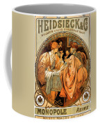 Heidsieck Champagne Poster Advert Coffee Mug by Philip Ralley