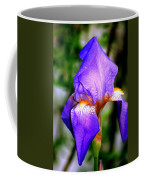 Heirloom Iris Purple Coffee Mug