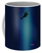 Helicopter Blues Coffee Mug
