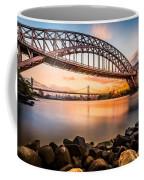 Hell Gate And Triboro Bridge At Sunset Coffee Mug
