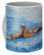 Hello Young Lovers In Blue Coffee Mug