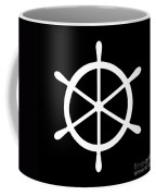 Helm In White And Black Coffee Mug