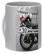 Helmet In Red Coffee Mug