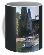 Helmsman 37 Yacht Coffee Mug
