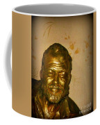 Hemmingway In Havana Coffee Mug by John Malone