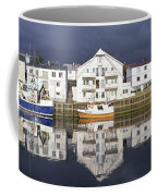Henningsvaer Panoramic View Coffee Mug