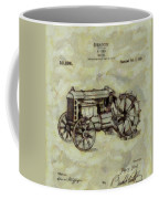 Henry Ford Tractor Patent Coffee Mug