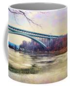 Henry Hudson Bridge And The Palisades Coffee Mug