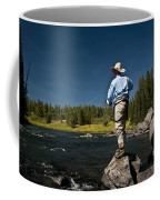 Henry's Fork Coffee Mug by Ron White