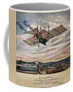 Henson's Aerial Steam Carriage 1843 Coffee Mug