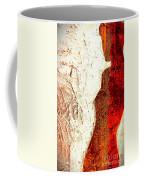 Her Red Silhouette Coffee Mug