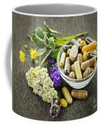 Herbal Medicine And Herbs Coffee Mug