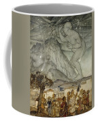 Hercules Supporting The Sky Instead Of Atlas Coffee Mug