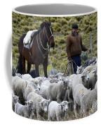 Herding Sheep Patagonia 3 Coffee Mug