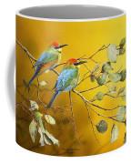 Here Comes The Sun - Rainbow Bee-eaters Coffee Mug