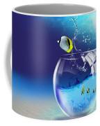 Here Fishy Fishy Coffee Mug