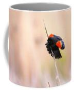 Here I Am Ladies - Red-winged Blackbird Coffee Mug