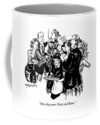 Here They Come: Detox And Botox Coffee Mug