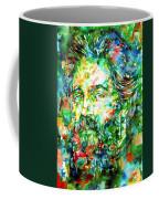 Herman Melville Watercolor Portrait Coffee Mug