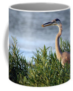 Heron And Crayfish 2029 Coffee Mug