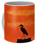 Heron - At - Sunset Coffee Mug