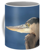 Heron Close-up Coffee Mug