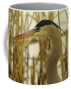 Heron Close Up Coffee Mug