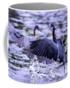 Heron Encounter - Battle - Fight Coffee Mug