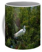 Heron In Tree Coffee Mug
