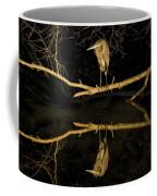 Heron Mirror On Maryland Canal Coffee Mug