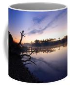 Heron Sunrise On The Bon Secour Coffee Mug
