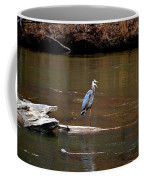 Heron Talking Coffee Mug