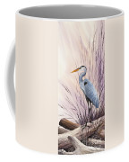 Herons Driftwood Home Coffee Mug