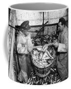 Herring Fishing Howth 1955  Coffee Mug