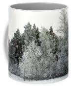 Hersey Lake Under Snow Coffee Mug