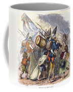 Hessian Mercenaries, 18th C Coffee Mug