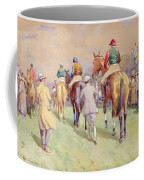 Hethersett Steeplechases Coffee Mug by John Atkinson