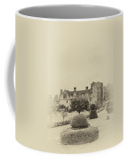 Hever Castle Yellow Plate 2 Coffee Mug