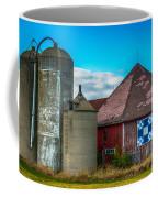 Hexagon Quilt Barn Coffee Mug