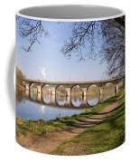 Hexham Bridge And Riverside Path Coffee Mug