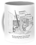 Hey, Baby, What's Happenin'?  How's Coffee Mug