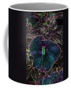Hibiscus At Midnight Coffee Mug