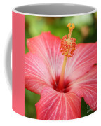 Hibiscus - Square Coffee Mug by Carol Groenen