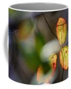 Hidden Forest Leaves Coffee Mug