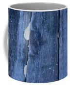 Hiding From The Snow Coffee Mug