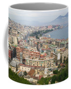 High Angle View Of A City, Naples Coffee Mug